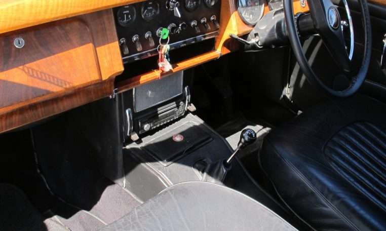 1964 Jaguar Front Interior Profile