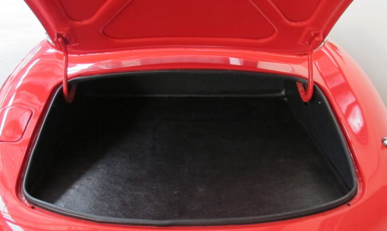 1970 E Type Jaguar Boot Storage