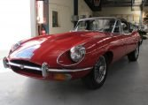 1970 E Type Jaguar Side Profile 3