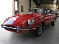 1970 E Type Jaguar Side Profile 3