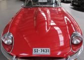 1970 E Type Jaguar Front profile
