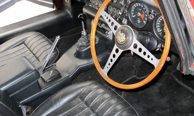 1970 E Type Jaguar Interior