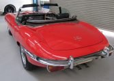 1970 E Type Jaguar Rear Profile