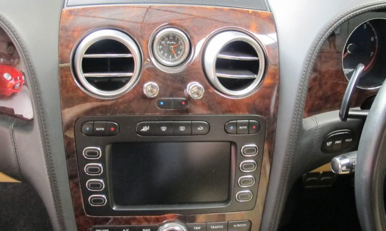 2004 Bentley Continental GT Front Console