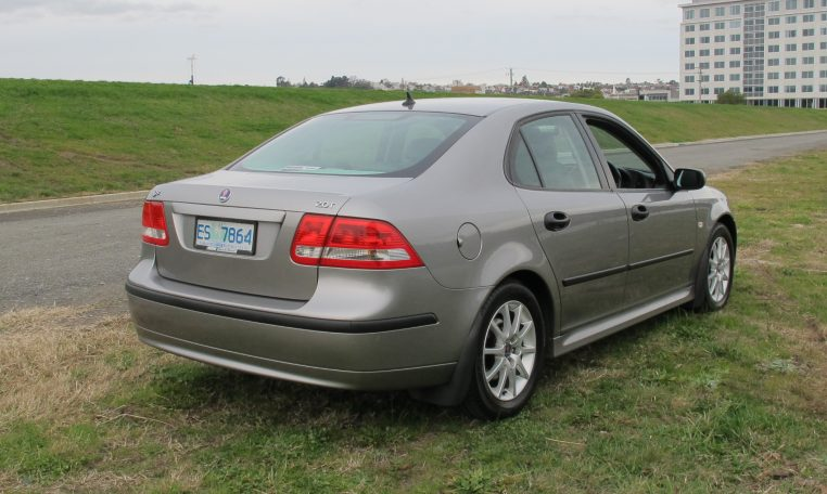2003 Saab 93 - Rear Profile