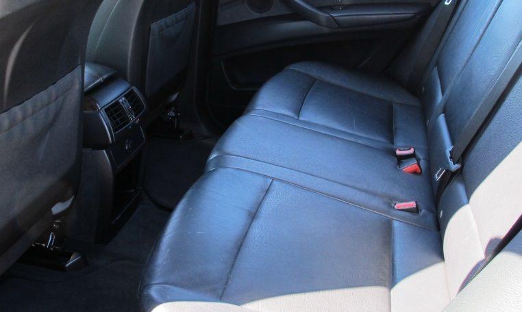 2008 BMW X5 - Rear Seat