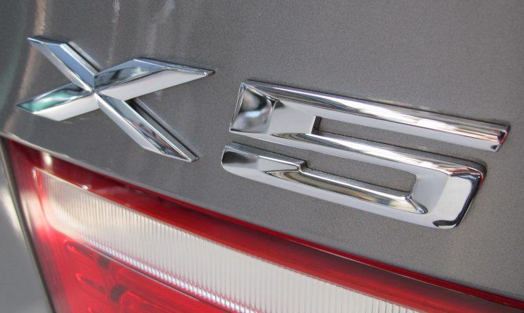 2008 BMW X5 - Badge