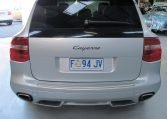 2008 Porsche Cayenne - Back Window