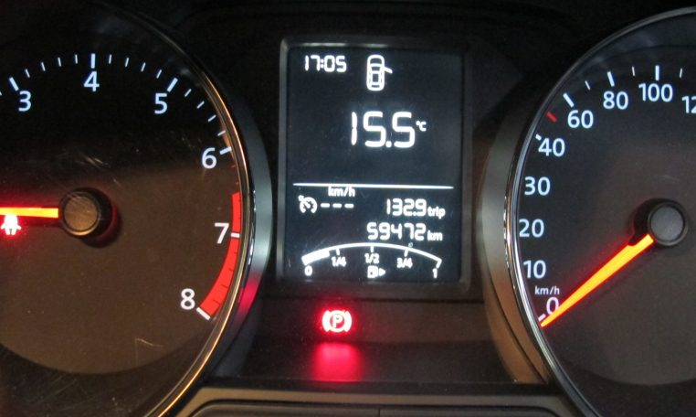 2015 VW Polo - Odometer Display
