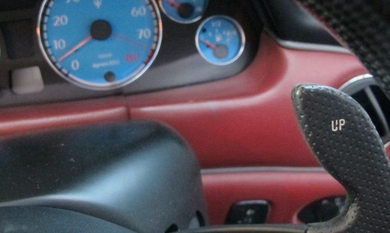 2004 Maserati 4200 GT - Speedo