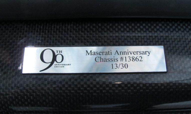 2004 Maserati 4200 GT - Anniversary Badge