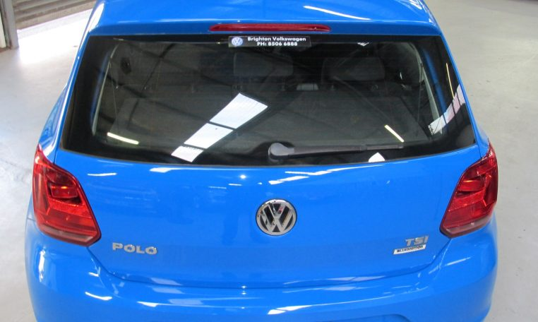 2015 VW Polo - Rear View