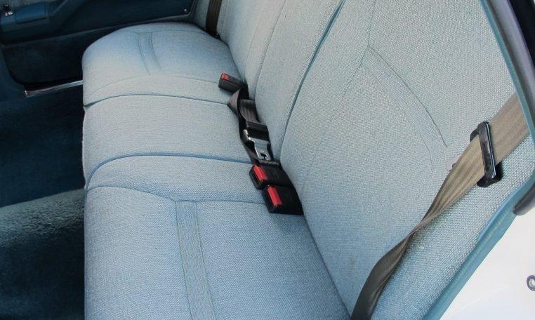 WB Statesman - Back Seat