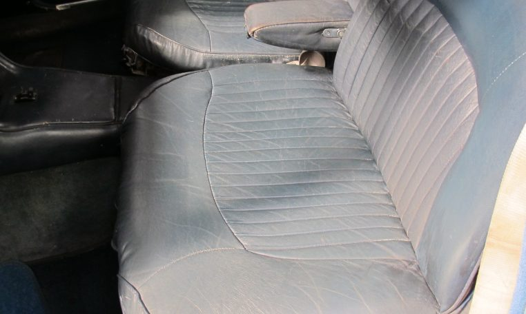 1966 Jag S-Type - Front Seat