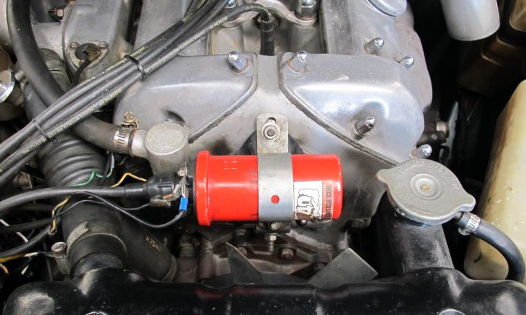 1966 Jag S-Type - Engine