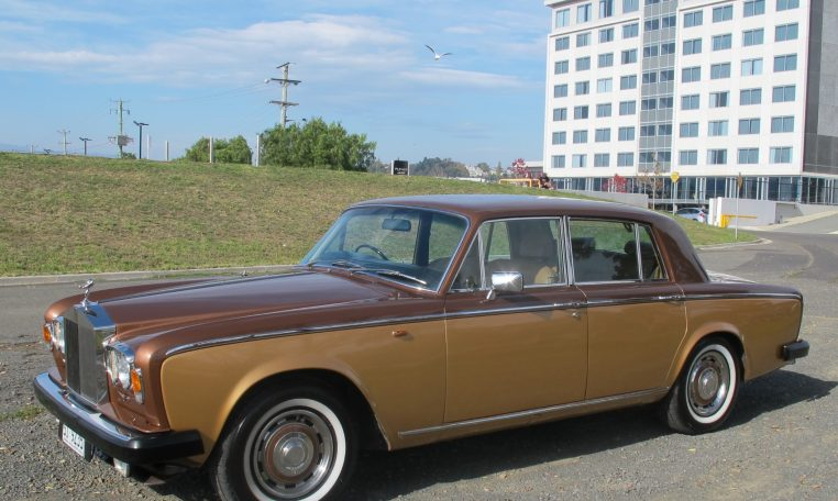 1980 Rolls Royce - White Wall Tyres
