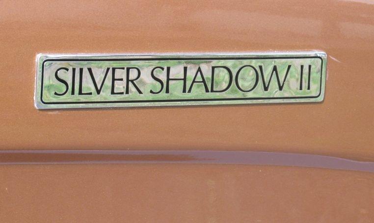 1980 Rolls Royce - Silver Shadow Badge