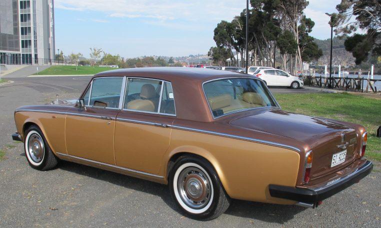 1980 Rolls Royce - Side View