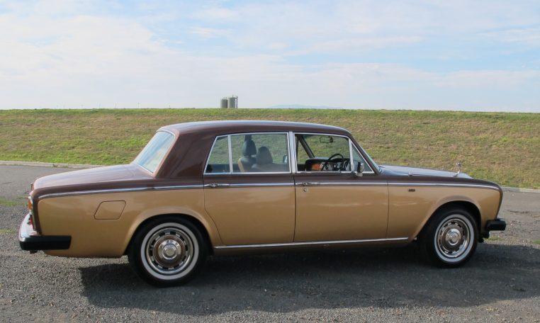 1980 Rolls Royce - Drivers Side Profile