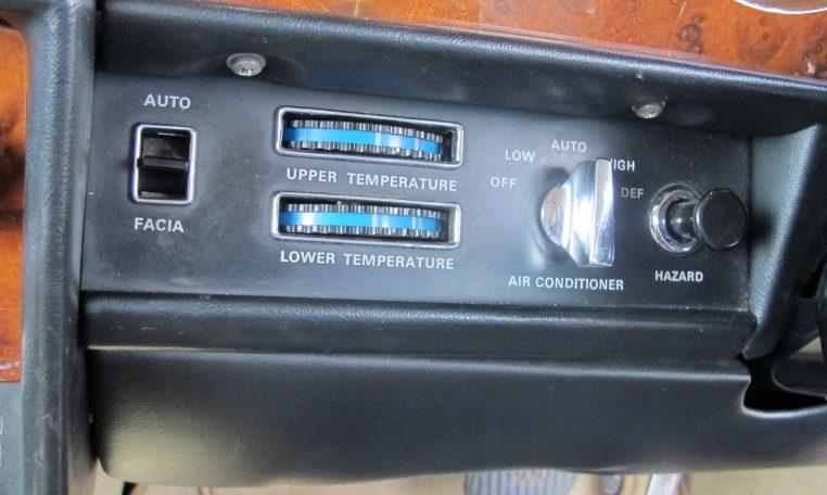 1980 Rolls Royce - Heater Controls