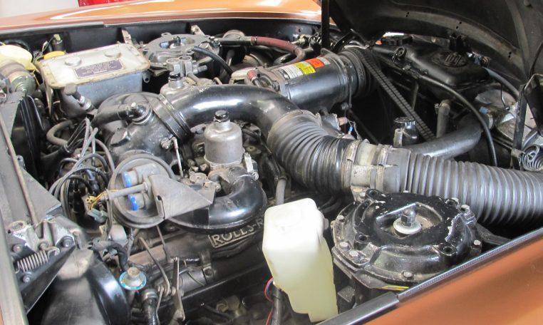 1980 Rolls Royce - Engine