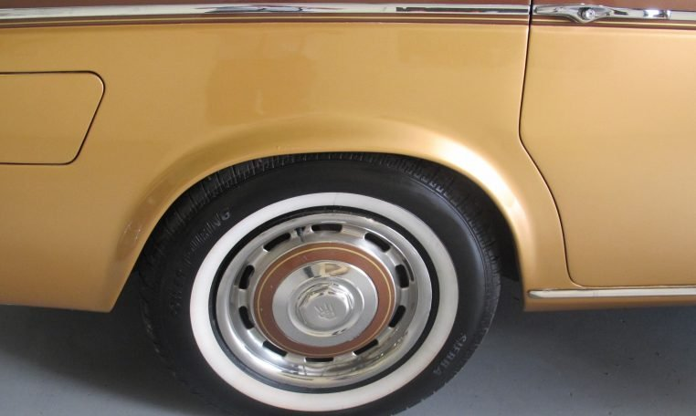 1980 Rolls Royce - Rear Wheel