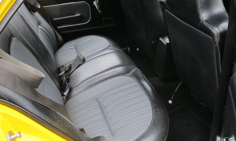 1974 L31 SLR/5000 Torana - Rear Seat