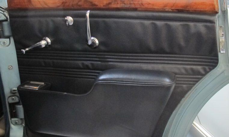 1966 Jag S-Type - Inside Drivers Rear Door