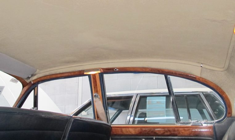 1966 Jag S-Type - Hood Lining
