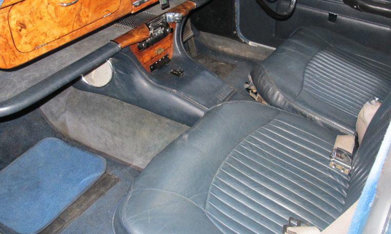 1966 Jag S-Type - Dash