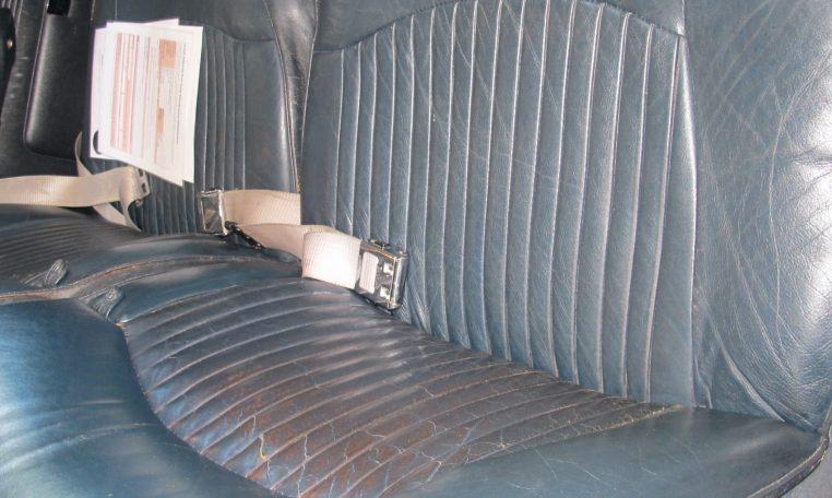 1966 Jag S-Type - Seats