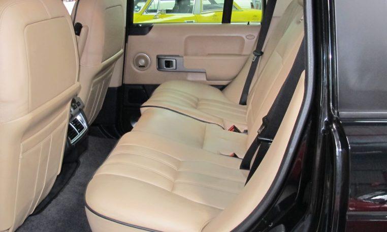 Range Rover Vogue - Back Seat