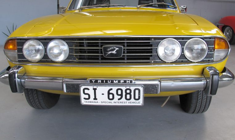 Triumph Stag - Front Grill
