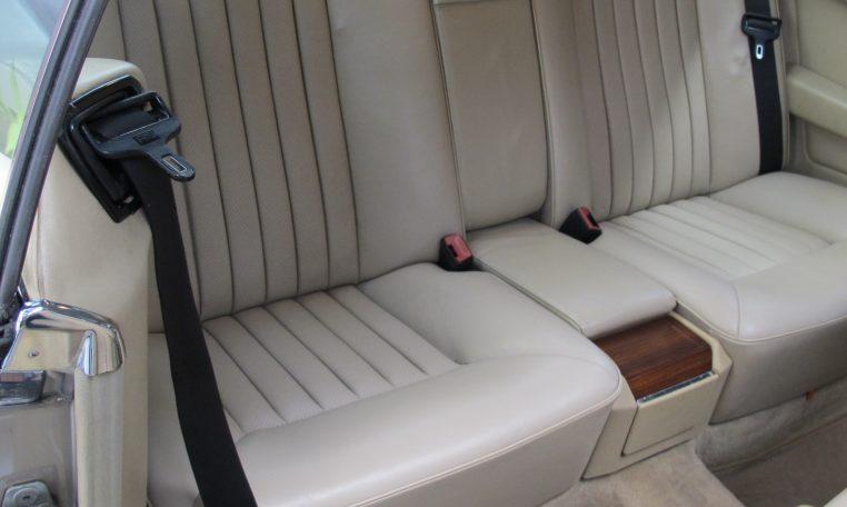 Mercedes 300 CE - Back Seat