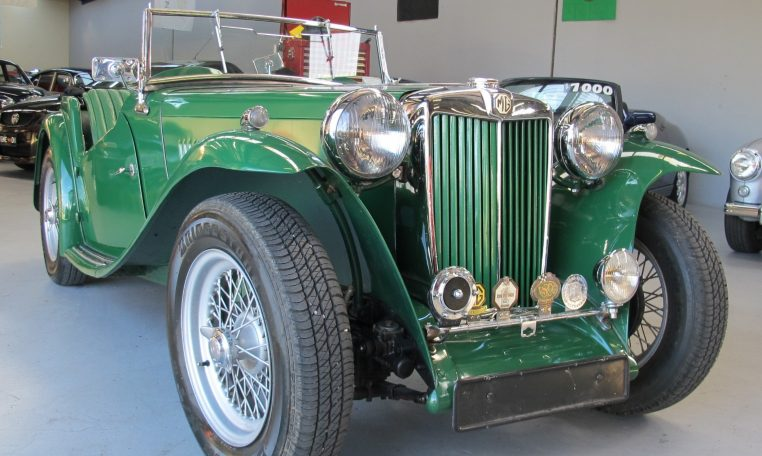 1947 MG TC - Right Hand Front