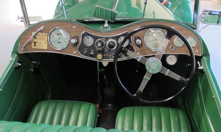 1947 MG TC - Inside View