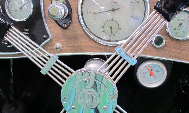1947 MG TC - Speedo