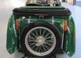 1947 MG TC - Spare Wheel