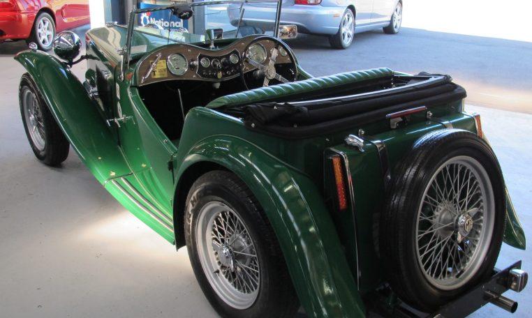 1947 MG TC - Rear Profile