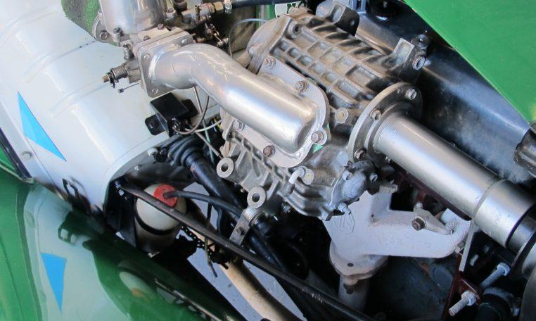 1947 MG TC - Engine Bay