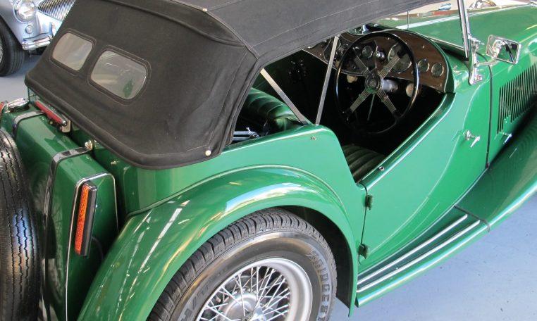 1947 MG TC - Steering Wheel