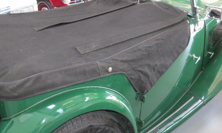 1947 MG TC - Tonneau Cover