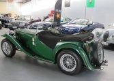 1947 MG TC - Side Profile