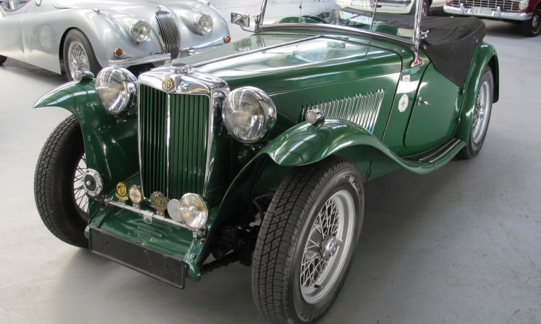 1947 MG TC - Front Grill
