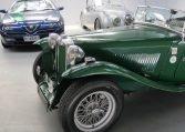 1947 MG TC - Front Wheel