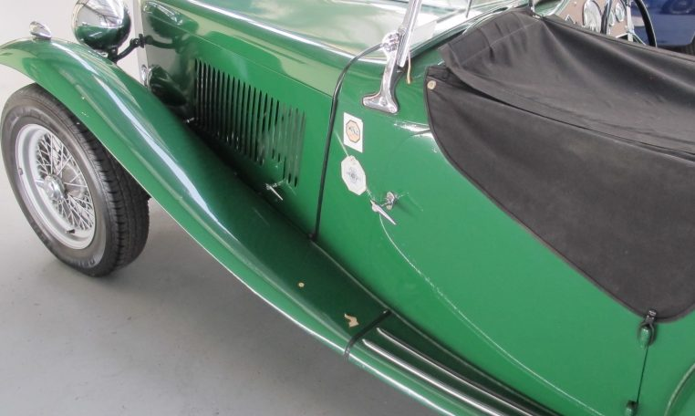 1947 MG TC - Left Hand Side Profile