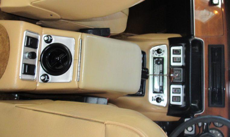 Jaguar XJ6 Series 2 - Centre Console