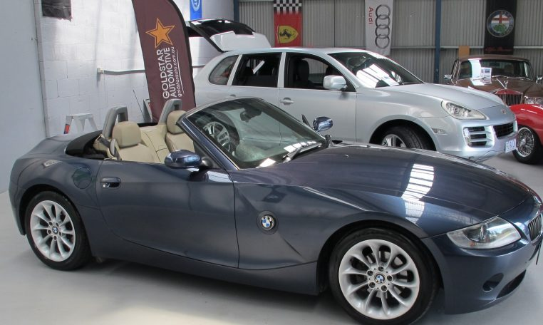 2005 BMW Z4 - Side View