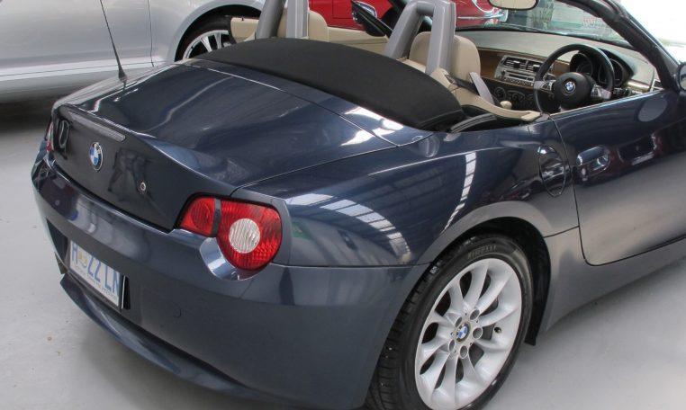 2005 BMW Z4 - Rear Guard