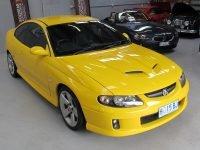 2005 Holden Monaro - Front View